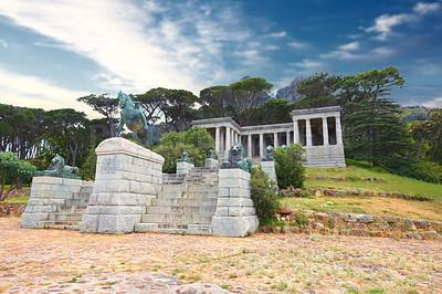 Buy stock photo Shot of a Rhodes Memorial