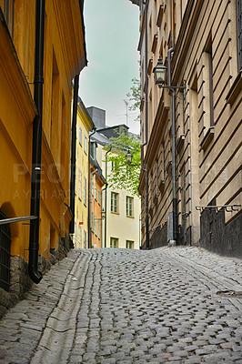 Buy stock photo Shot of historic buildings
