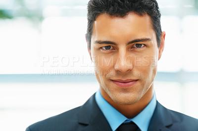 Buy stock photo Closeup of executive
