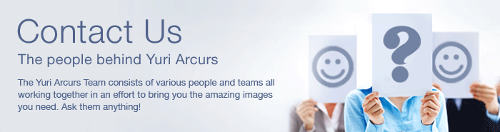 Contact Us - The people behind Yuri Arcurs