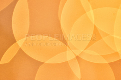Buy stock photo Closeup shot of Christmas lights - blurred
