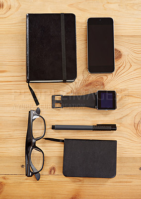 Buy stock photo A group of everyday objects and devices