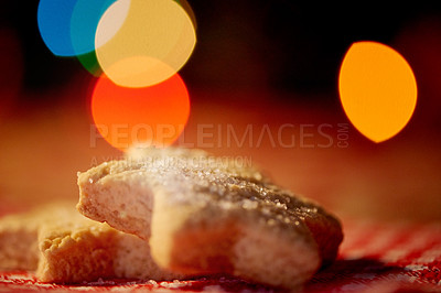 Buy stock photo Closeup shot of Christmas cookies
