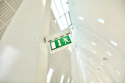 Buy stock photo Escaping -  modern life and architecture