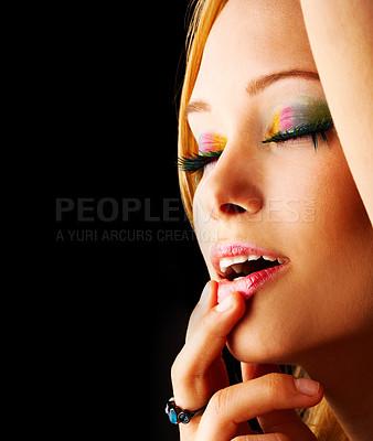 Buy stock photo Exotic cosmetics
