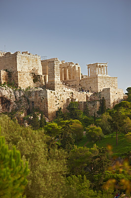 Buy stock photo a photo of Parthenon, Athens Acropolis