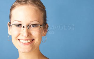 Buy stock photo Beautiful Girl Looking Happy