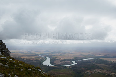 Buy stock photo Still life shot of a scenic landscape