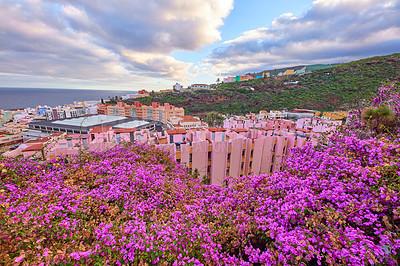 Buy stock photo Beautiful city of Santa Cruz