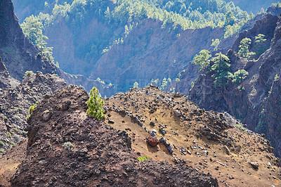 Buy stock photo Roque de Los Muchachos. La Palma, Canary islands, Spain