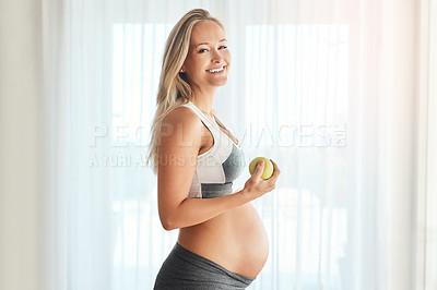 Buy stock photo My baby deserves good health