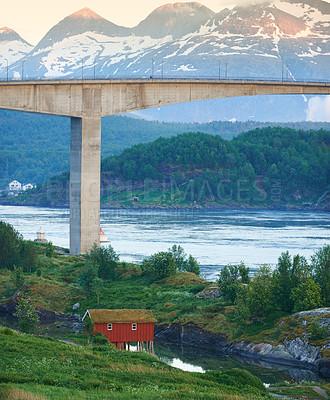 Buy stock photo Summertime in Norway - Nordland