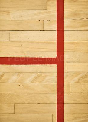 Buy stock photo Shot of an empty squash court