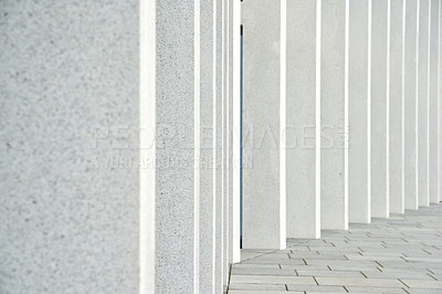 Buy stock photo Background and copy space - wall of concrete