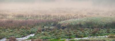 Buy stock photo A photo of farmland in autumn