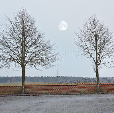 Buy stock photo Denmark in winter