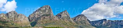 Buy stock photo The twelve apostles - Cape Town, Western Cape